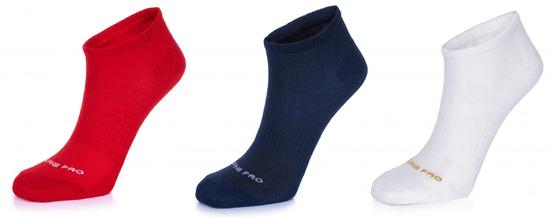ALPINE PRO trojité balení unisex ponožek Naoko