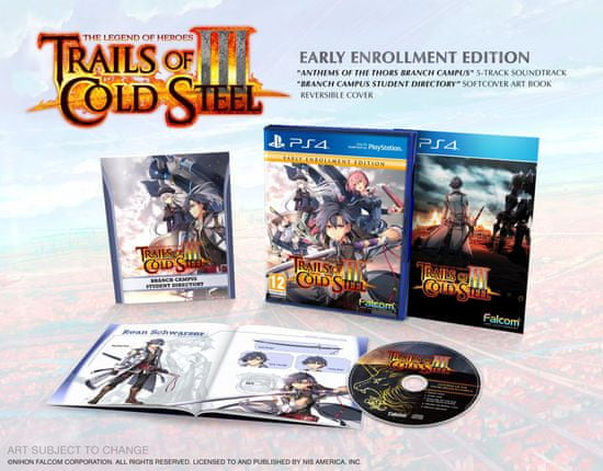 PQube The Legend of Heroes: Trails of Cold Steel III - Early Enrolment Edition igra (PS4)