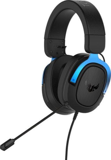 Asus TUF Gaming H3 slušalice, crne-plave