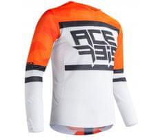 Acerbis Helios Vented dres orange/white vel. M
