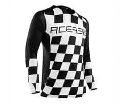 Acerbis Start and finish black/white vel. XL