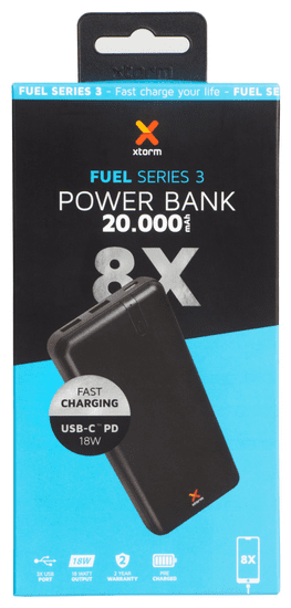 Xtorm Impact 20 000 mAh 18 W FS304 powerbank