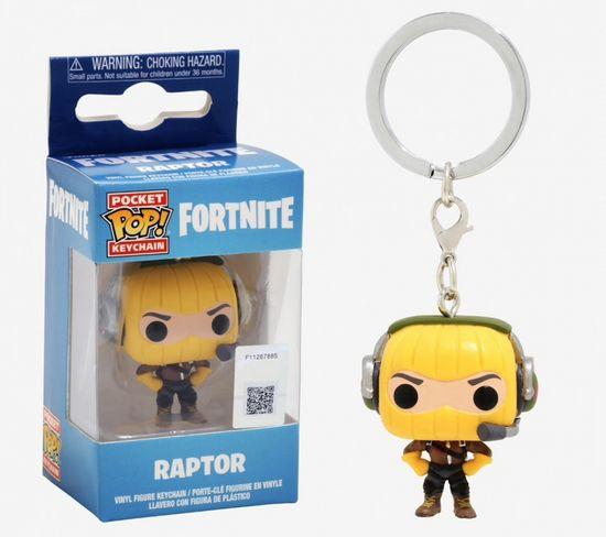 Funko POP! Fortnite S1A privjesak za ključeve, Raptor