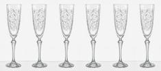 Crystalex kieliszki do szampana LEAVES 200 ml