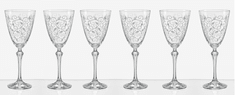 Crystalex kieliszki do białego wina LEAVES 250 ml