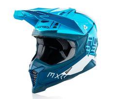 Acerbis X-Racer VTR white/blue přilba vel. XL