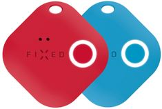 Smart tracker Smile s motion senzorem, Duo pack - červený + modrý