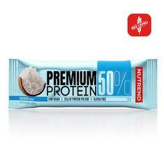Nutrend Premium 50% Protein bar 16x50 g kokos
