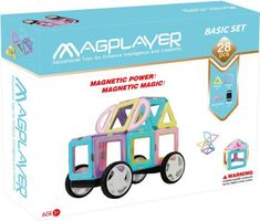 MAGPLAYER Magplayer magnetická stavebnica 28 ks