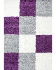 Ayyildiz Kusový koberec Life Shaggy 1501 lila 60x110