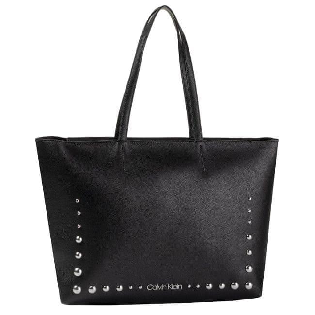 Calvin Klein Dámská kabelka Ck Must Psp20 Med Shopper St Black