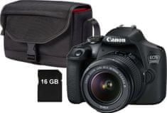 Canon aparat EOS 2000D + 18-55 Value Up Kit