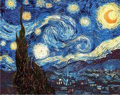EuroGraphics Puzzle Hvězdná noc 1000 dílků