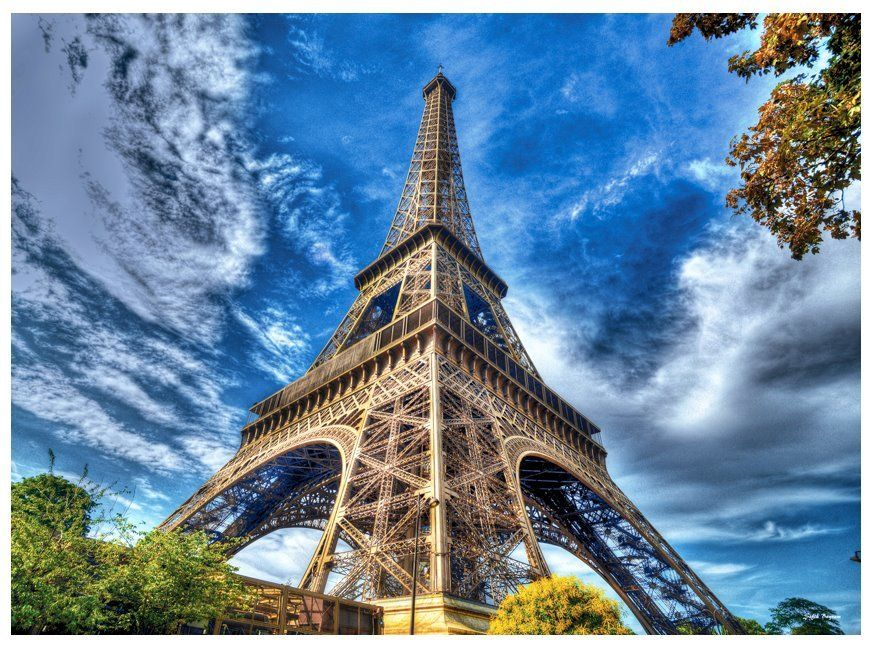 AnaTolian Puzzle Eiffelova věž, Paříž 1000 dílků
