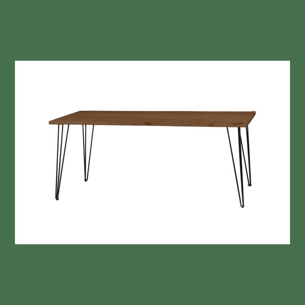 LAKŠMI Jídelní stůl Guru 140x90 z indického masivu palisandr, Super natural