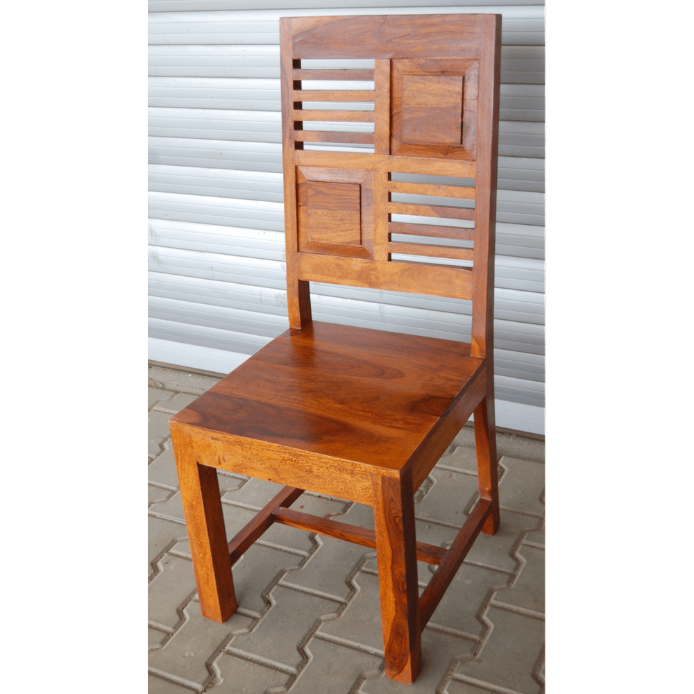 LAKŠMI - Židle Tara z indického masivu palisandr, Natural