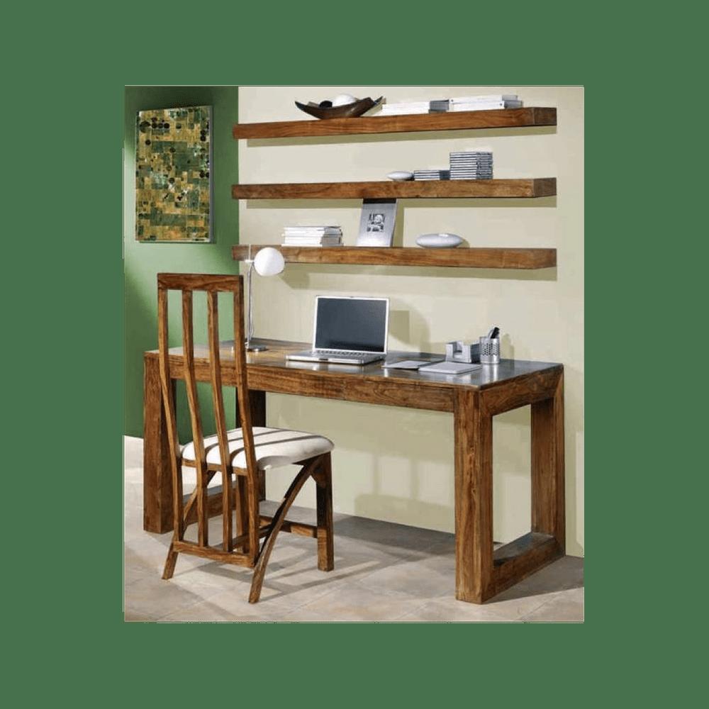 LAKŠMI Psací stůl Tara 110x76x60 z indického masivu palisandr, Natural