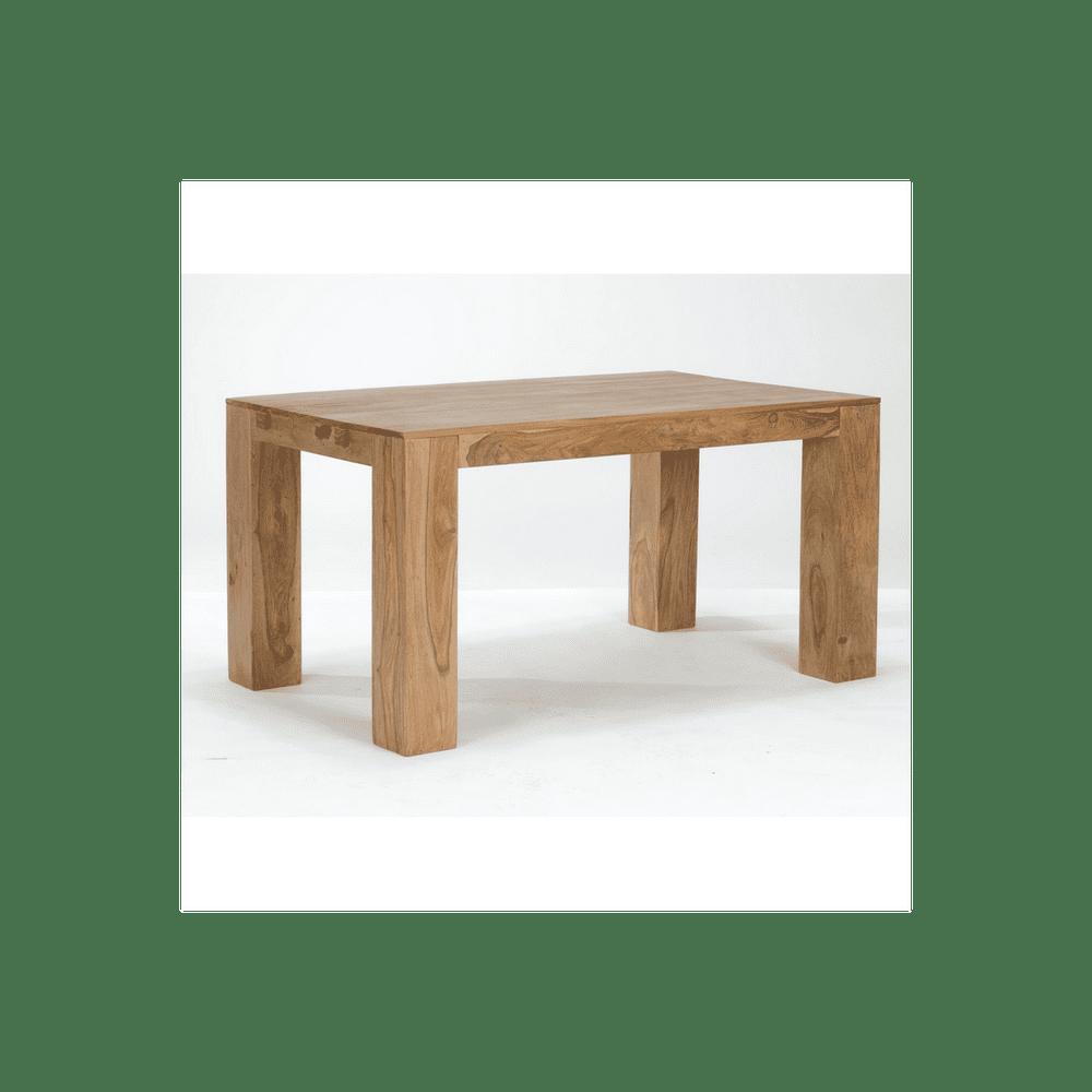 LAKŠMI Jídelní stůl Tara 140x90 z indického masivu palisandr, Natural