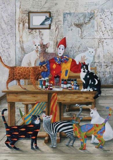 Art puzzle Puzzle Můj barevný svět 1500 dílků