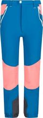 Regatta Dětské kalhoty Regatta TECH MOUNTAIN petrolejová modrá/ohnivě růžová 122_128
