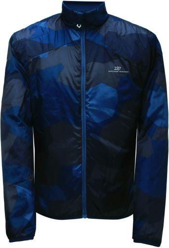 2117 Pánská zateplená bunda 2117 DJURAS šedá/modrá XXL