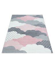 Ayyildiz Detský kusový koberec Bambi 820 pink 80x150