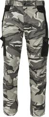 CRV Maskáčové kalhoty Crambe sivá kamufláž XL
