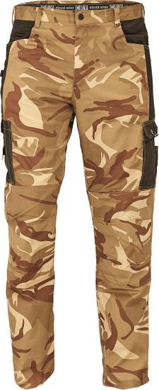 CRV Maskáčové kalhoty Crambe