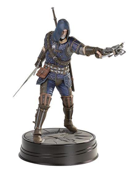 Vaják 3 (The Witcher 3) szoborfigura: Geralt Grandmaster Feline Armor