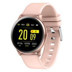 Smartomat Roundband 2, okosóra (smartwatch), rózsaszín