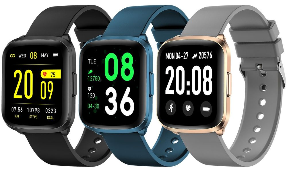 ARMODD Silentwatch 2, chytré hodinky (smartwatch) - černá