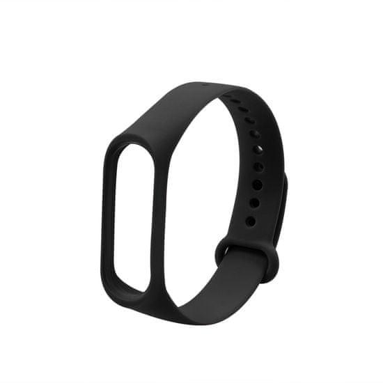 MAX Náhradný remienok pre MiBand MXS01, čierny