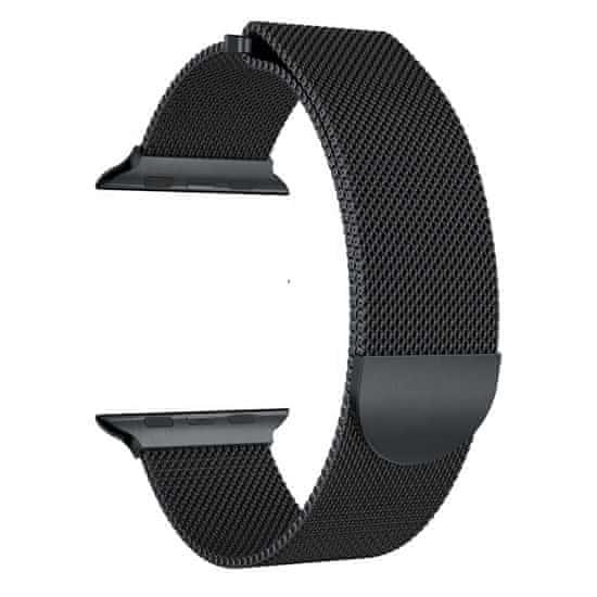 MAX Náhradný remienok pre Apple Watch 44mm MAS05 čierny