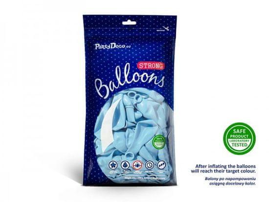 Paris Dekorace Balónky pastelové světle modré, 27 cm