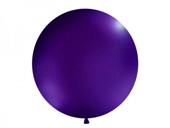 Paris Dekorace Vystřelovací balón tmavě fialový