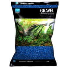 Aqua Excellent Písek 1,6-2,2 mm modrý, 3 kg