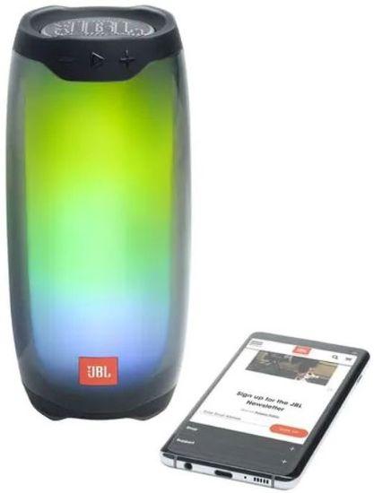 JBL Pulse 4 prijenosni bluetooth zvučnik, crna