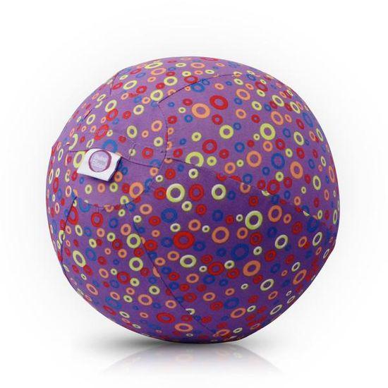 Bubabloon Dětský balón - kroužky fialový