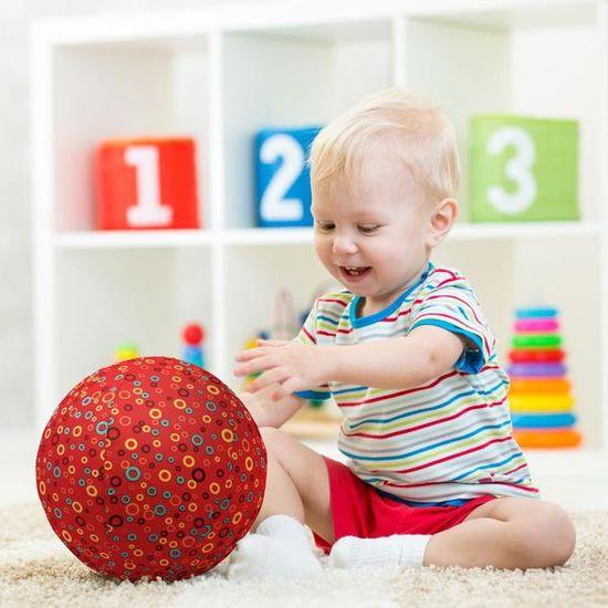 Bubabloon Dětský balón - kroužky červený