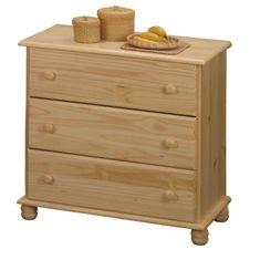 IDEA nábytok Bielizník 3 zásuvky 8013