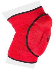 POWER SYSTEM elastické chrániče kolen červené L
