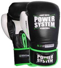 POWER SYSTEM Boxerské rukavice Impact Evo černé 10oz