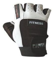 POWER SYSTEM Fitness rukavice Fitness čiernobiele XS