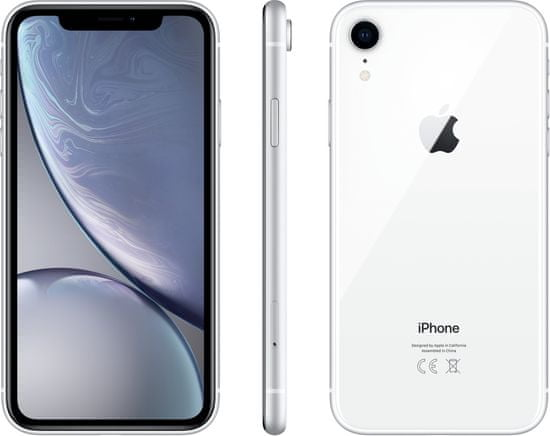 Apple iPhone Xr, 128GB, biela