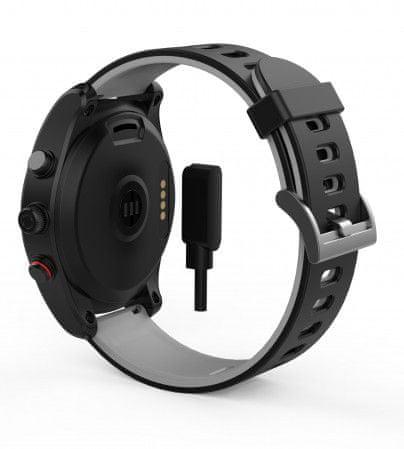 Swisstone SW 750 PRO HR pametna ura, črna
