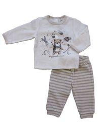 Carodel dětské pyžamo 56 béžová