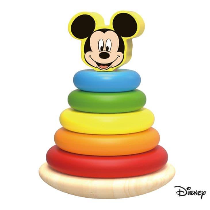 Derrson Disney Dřevěná pyramida velká Mickey Mouse