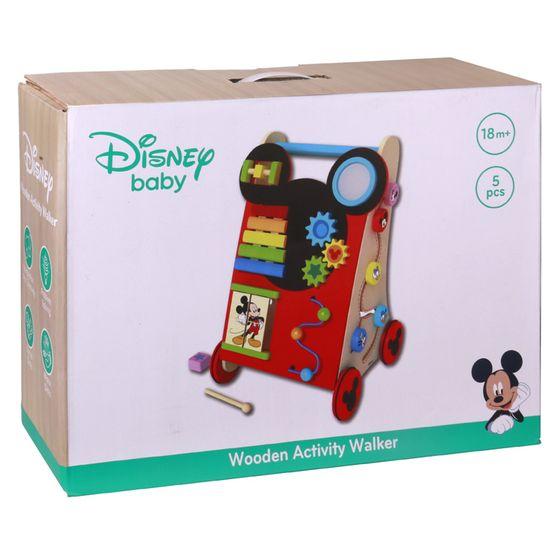 Derrson Disney Dřevěné aktivní chodítko Mickey