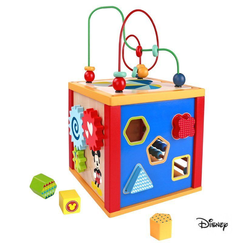 Derrson Disney multifunkční kostka Mickey Mouse 5v1