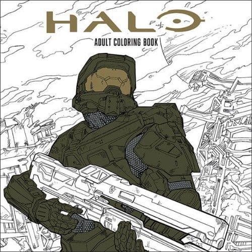 Halo - omalovánky